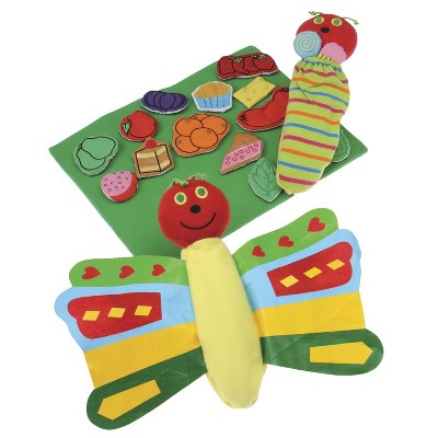 Marvel Education Co Butterfly and Props for Very Hungry Caterpillar, set of 17