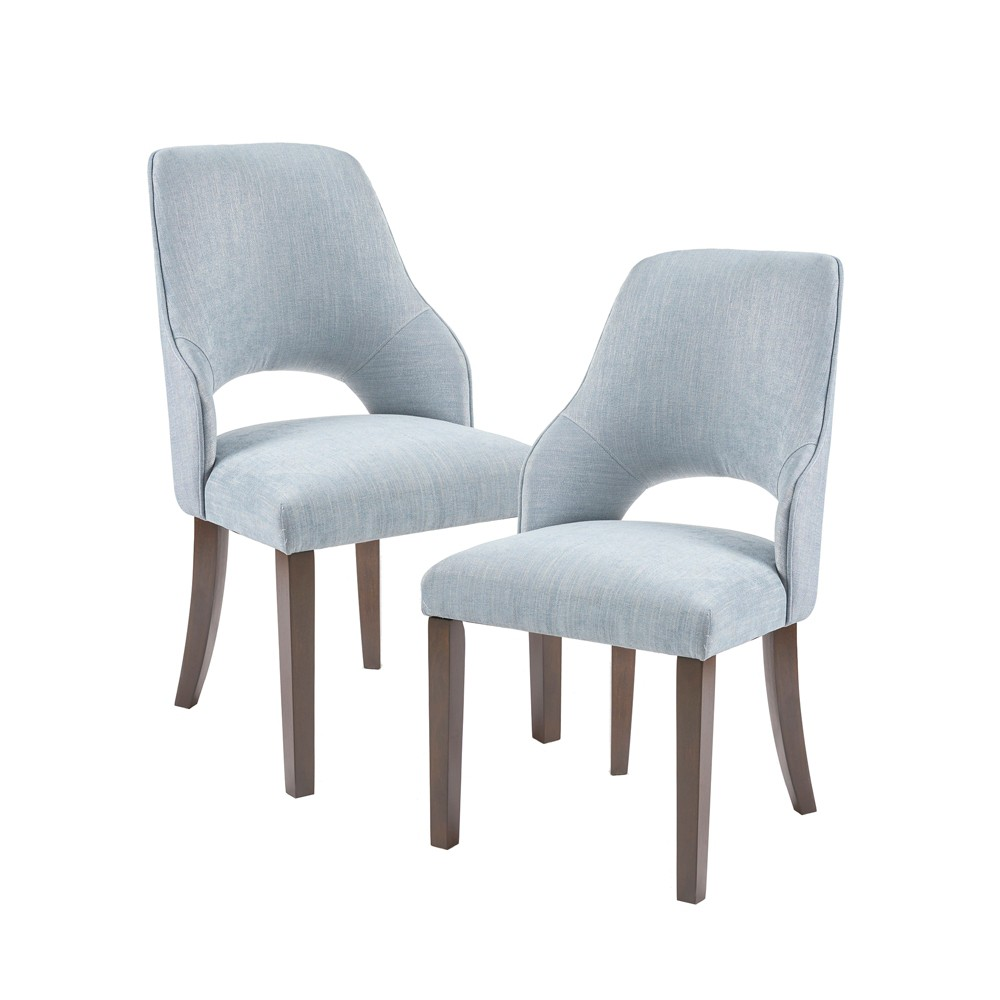 Set of 2 Ellery Dinning Side Chair Blue