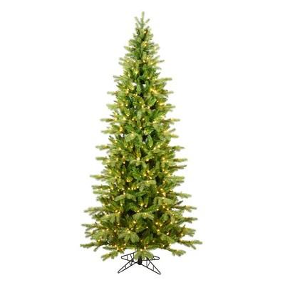 Vickerman Balsam Spruce Slim Artificial Christmas Tree