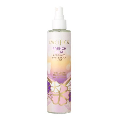 French Lilac by Pacifica Perfumed Hair & Body Mist Women's Body Spray - 6 fl oz