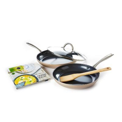 GreenPan 5pc Non-Stick Cookware Set Ceramic