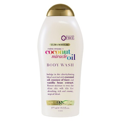 OGX Coconut Miracle Oil Body Wash - 19.5oz