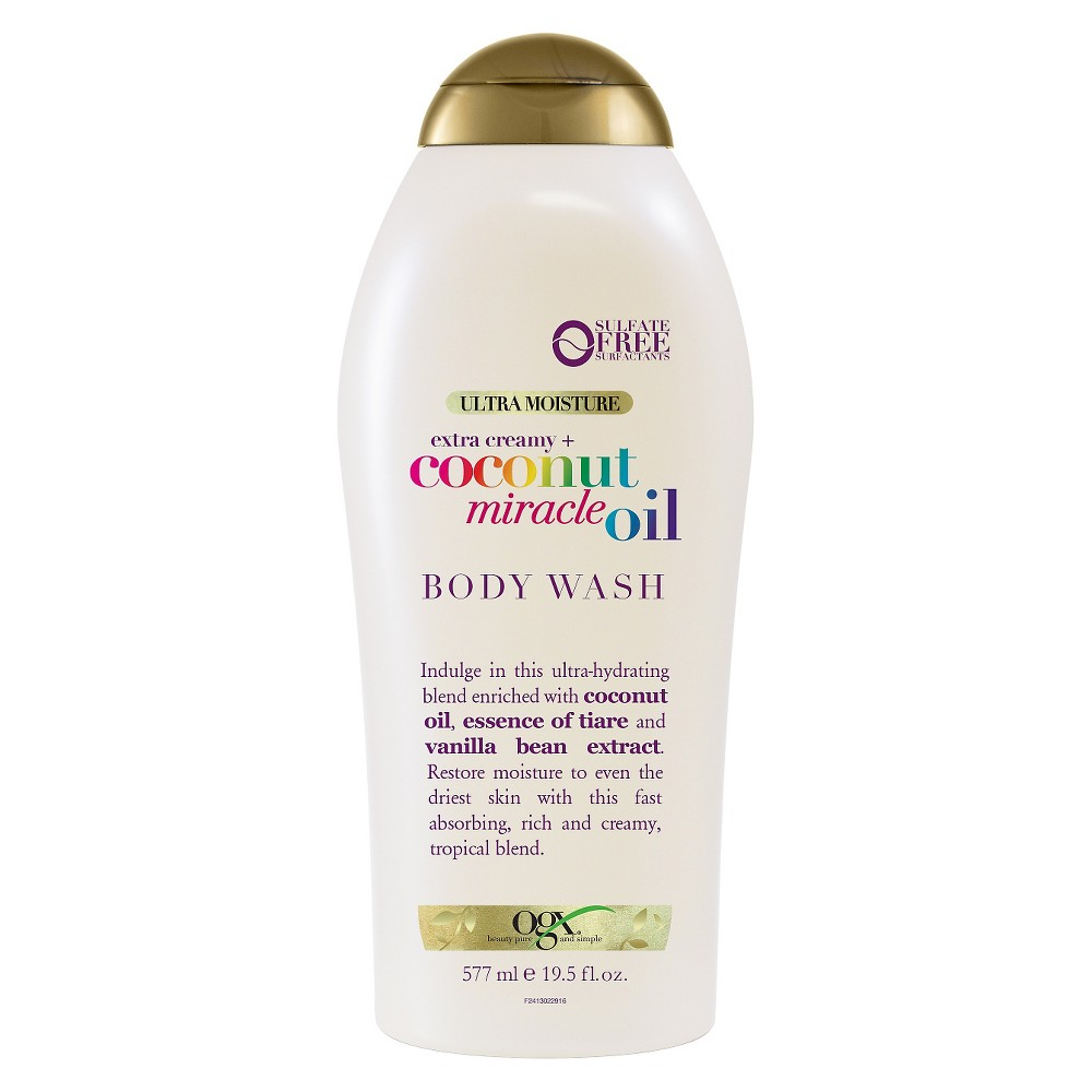 Image of OGX Coconut Miracle Oil Body Wash - 19.5oz