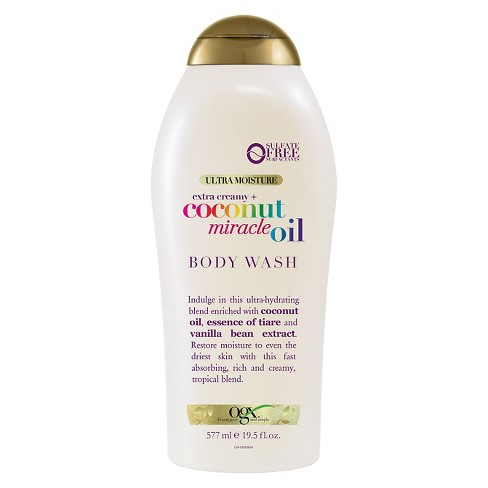 OGX Coconut Miracle Oil Body Wash - 19.5oz - image 1 of 4