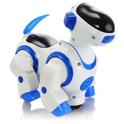 Vivitar Kids Tech Dancing Robot Dog Toy in Blue