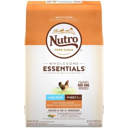 Nutro Wholesome Essentials Large Breed Adult Chicken & Rice Dry Dog Food - 30lb