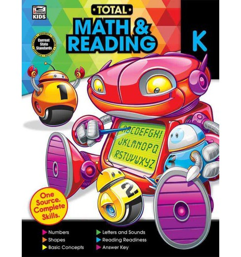 Total Math and Reading, Grade K (Paperback) - image 1 of 1