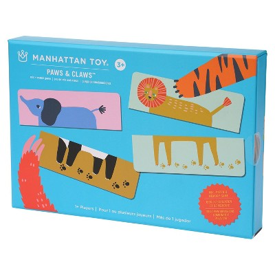 Manhattan Toy Paws & Claws Mix + Match Game