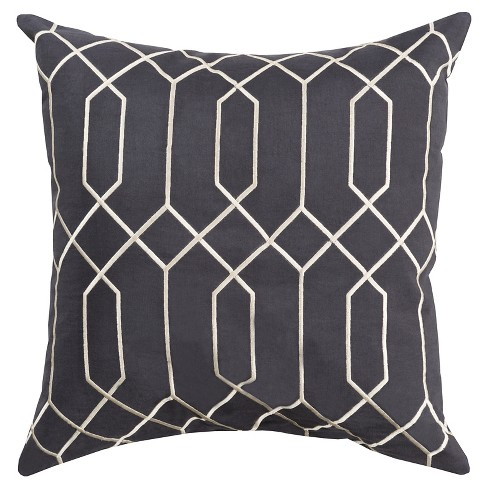 Sorrento Diamond Throw Pillow - Surya - image 1 of 1