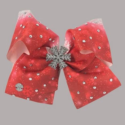 Girls' Nickelodeon JoJo Siwa Glitter Bow Hair Clip - Black - image 1 of 1