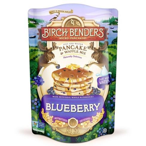 Birch Benders Blueberry Pancake and Waffle Mix - 14oz - image 1 of 3