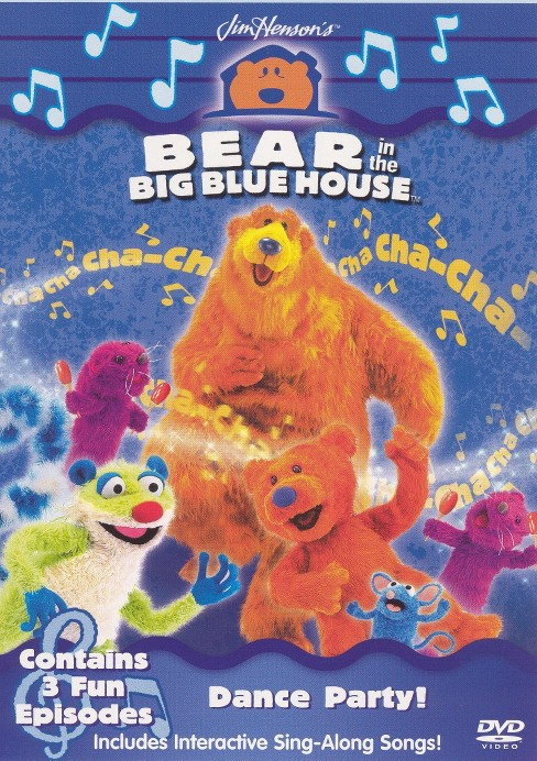 Bear In The Big Blue House:Dance Part (DVD) - image 1 of 1