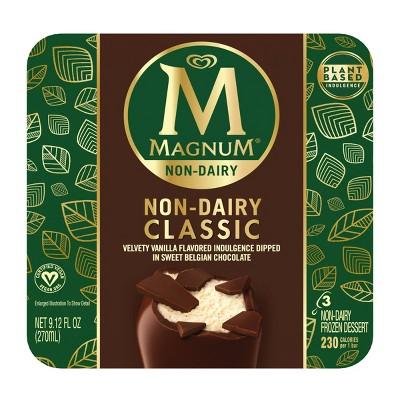Magnum Non-Dairy Vegan Classic Ice Cream Bar - 3ct