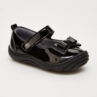 Baby Girls' Surprize by Stride Rite Ellen Mary Jane Shoes - Black 3