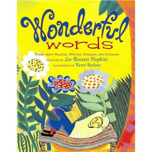 Wonderful Words - (Paperback) - image 1 of 1