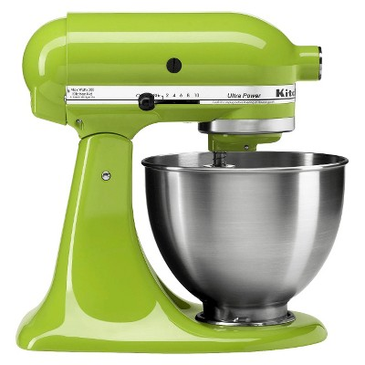 kitchenaid ultra power 4 5qt stand mixer green apple ksm95ga target rh target com