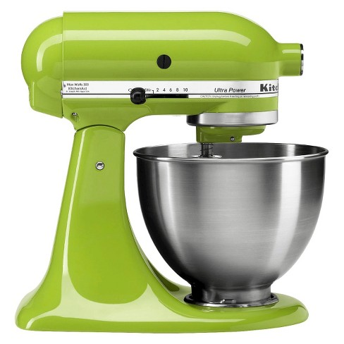 KitchenAid Ultra Power 4.5qt Stand Mixer Green Apple - KSM95GA
