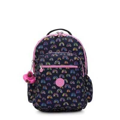 "Kipling Seoul Go Large Printed 15"" Laptop Backpack"