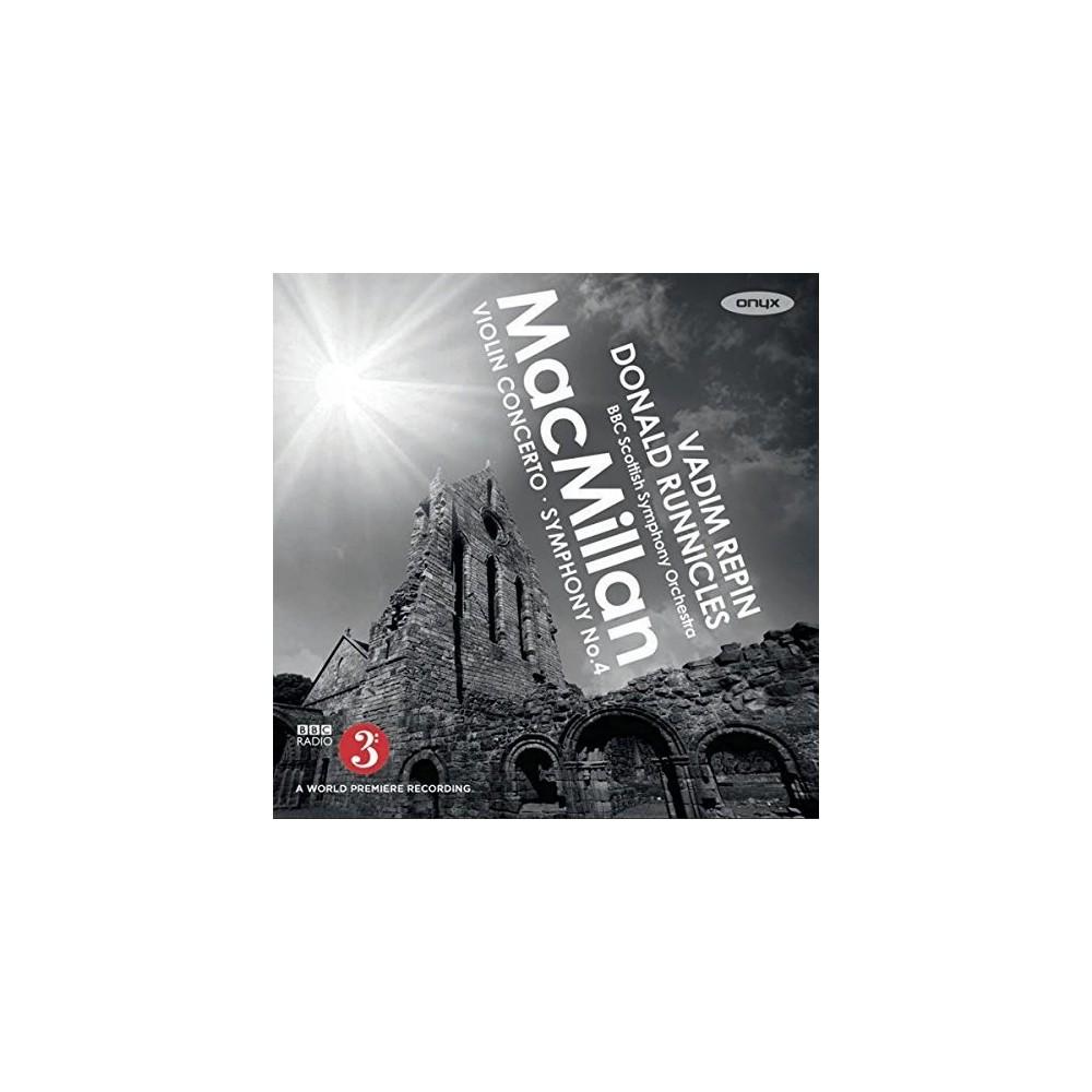 Donald Runnicles - Macmillan:Violin Concerto Symphony 4 (CD)