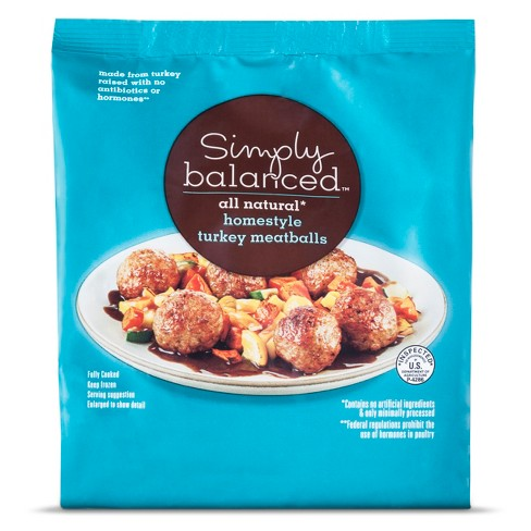 Homestyle Turkey Meatballs -20oz - Simply Balanced™ - image 1 of 1