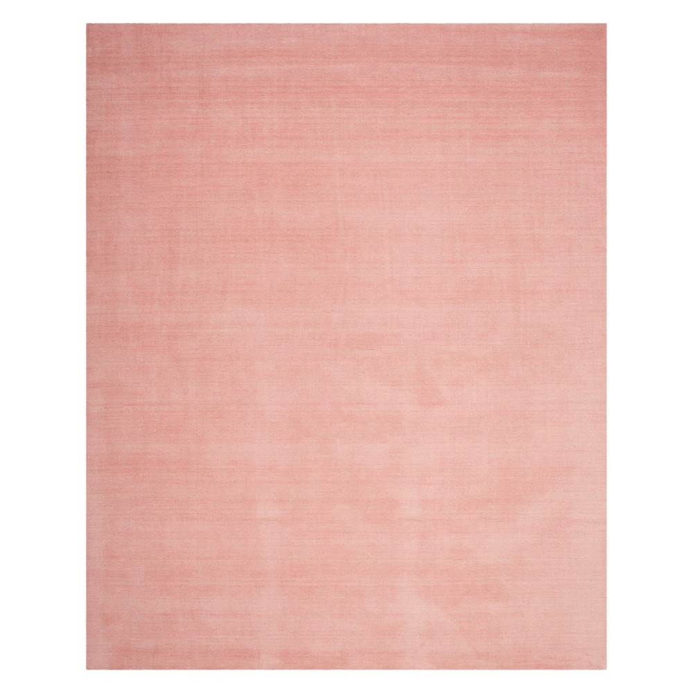8'X10' Solid Loomed Area Rug Light Pink - Safavieh