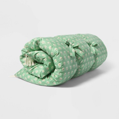 Queen Block Print Floral Lounge Decorative Throw Pillow - Threshold™