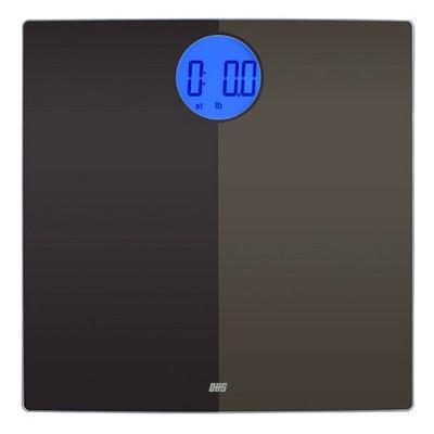 Shadow Digital Bathroom Scale Black - Optima Home Scales