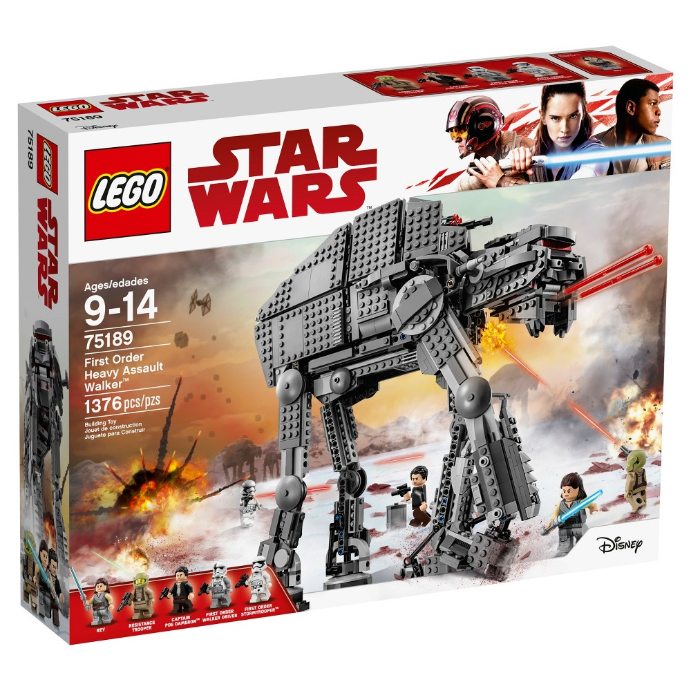 Lego Star Wars Sets 75106 Imperial Assault Carrier From 14999 75098 On Hoth The Last Jedi First Order Heavy Walker 75189