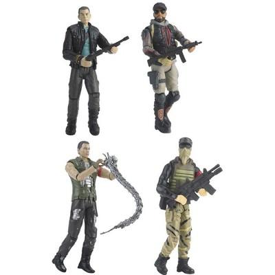 "Playmates Terminator 4 Salvation 3 3/4"" Human Figure Case Of 12"