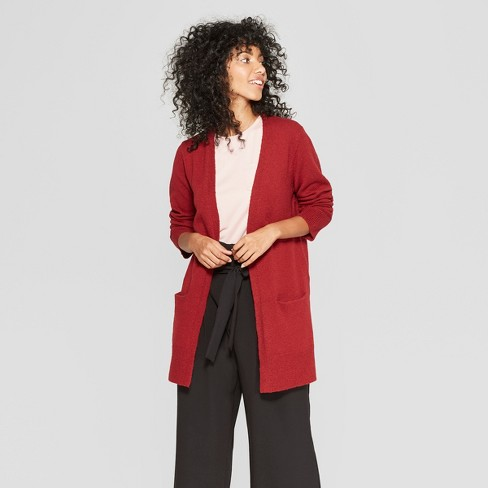Women's Cozy Open Cardigan - A New Day™ - image 1 of 3
