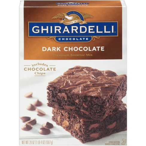 Ghirardelli Dark Chocolate Brownie Mix - 20oz - image 1 of 3
