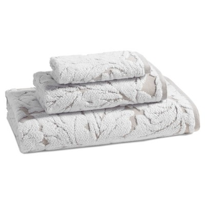 Bath Towels And Washcloths Taupe Brown - Kassatex®