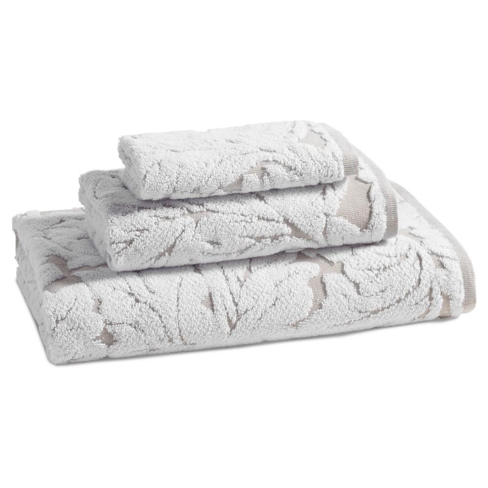 Washcloth Taupe Brown - Kassatex