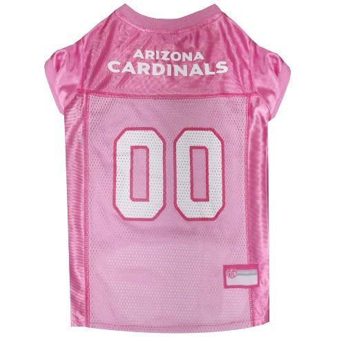 NFL Pets First Pink Pet Football Jersey - Arizona Cardinals - image 1 of 2
