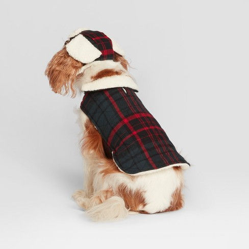 47b708d30 Pet Plaid Holiday Jacket - Blue/Red XL - Hearth & Hand™ with Magnolia