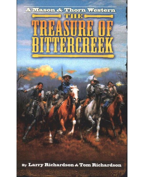 Treasure of Bitter Creek -  by Larry Richardson & Tom Richardson (Paperback) - image 1 of 1