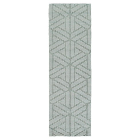"""Sage Abstract Loomed Runner - (2'6""""X8' Runner) - Surya - image 1 of 1"""