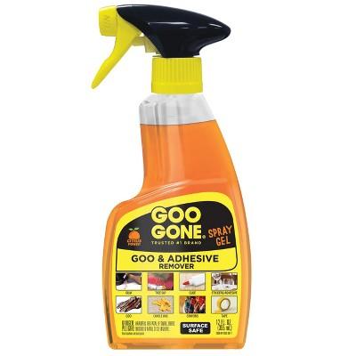 Goo Gone Spray Gel Fresh Citrus 12 oz