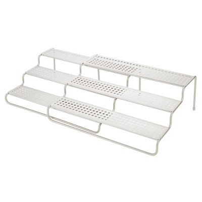 mDesign Adjustable/Expandable Kitchen Organizer Spice Rack
