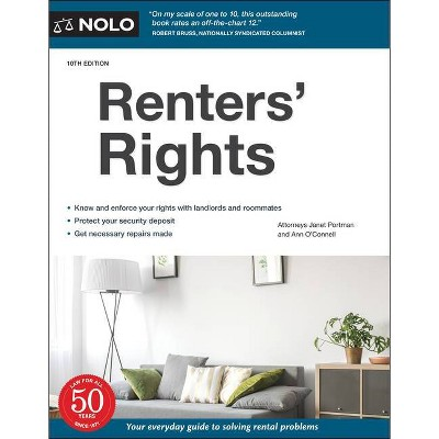 Renters' Rights - 10th Edition by  Janet Portman & Ann O'Connell (Paperback)