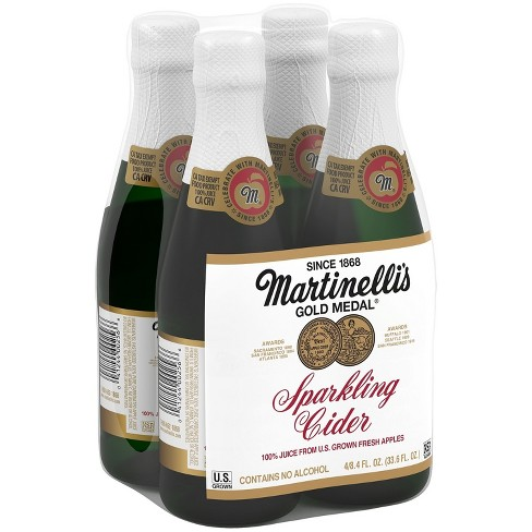 Martinelli's Sparkling Cider - 4pk/8.4 fl oz Mini Glass Bottles - image 1 of 1