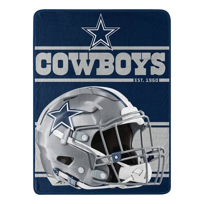 NFL Dallas Cowboys Micro Fleece Throw Blanket