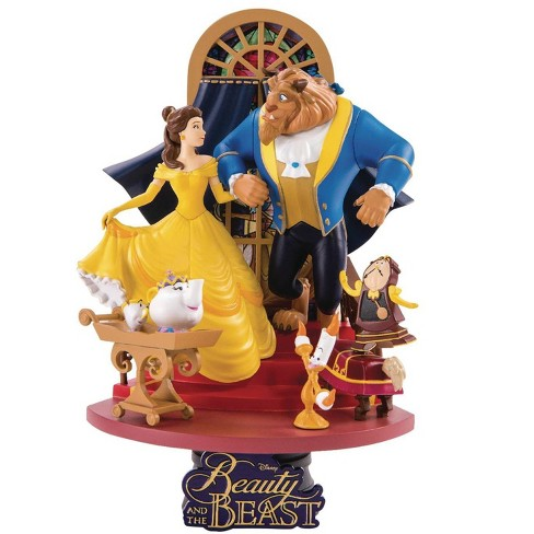 Disney Beauty and the Beast D-Select Belle and The Beast 6-Inch Diorama Statue DS-011 - image 1 of 2