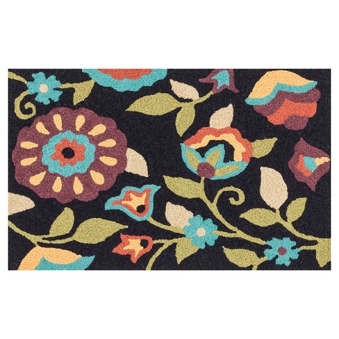 "Loloi Angelou Accent Rug - Black (1'8""X2'8"") - image 1 of 1"