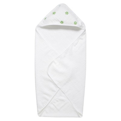 aden by aden + anais hooded towel, life's a hoot - turtle