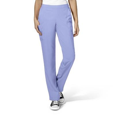 WonderWink Women's Full Elastic Straight Leg Scrub Pant