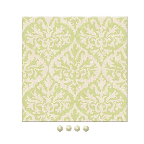 Wall Pops! ® Dry Erase Board Square - Green Design - image 1 of 2