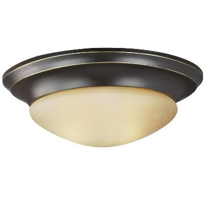 Sea Gull Nash 1 Light Heirloom Bronze Ceiling Fixture 7544493S-782