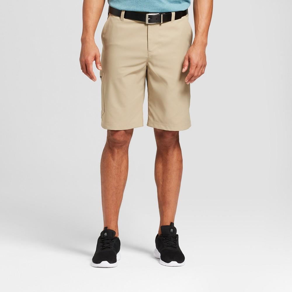 Men's Cargo Golf Shorts - C9 Champion Khaki (Green) 32