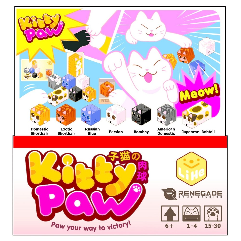 Kitty Paw Game, Board Games